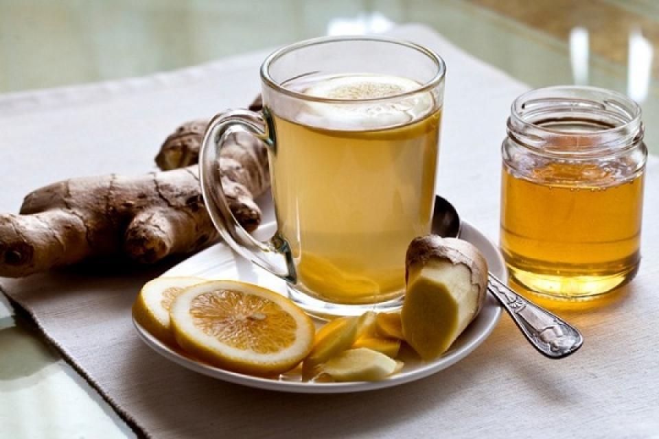 Рецепт чай с сухим имбирем